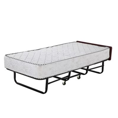 豪华弹簧折叠床(高档白圆机布)
