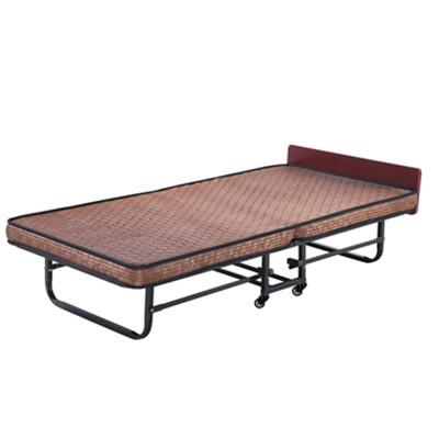 折叠床(咖啡条纹布)
