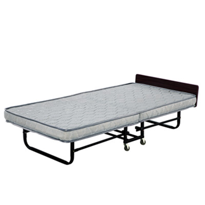 折叠床(浅条纹花瑶布)