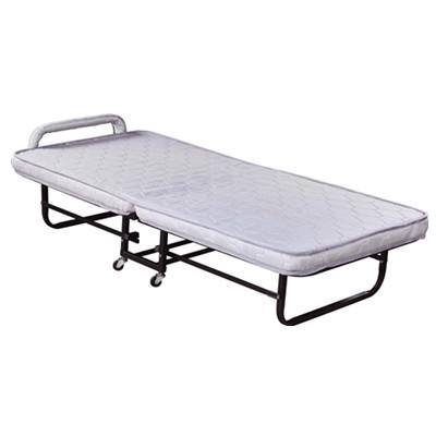 折叠床(浅色条纹花瑶布)