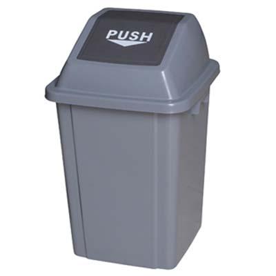 方形弹盖垃圾桶