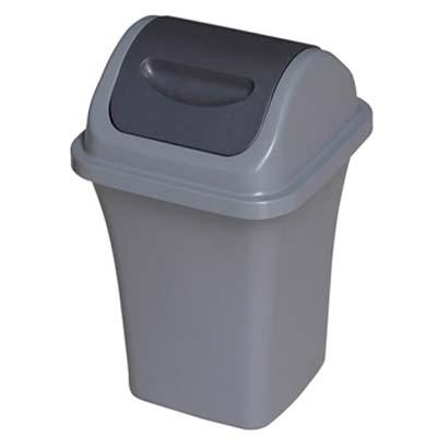 塑料弹盖垃圾桶