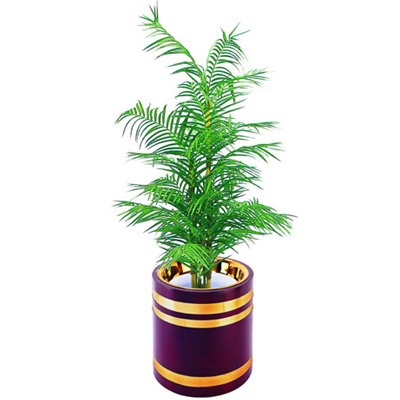 日式花盆(铜木)