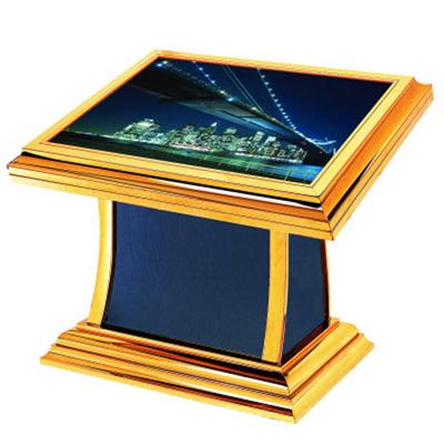 蓝宝石弧身灯箱
