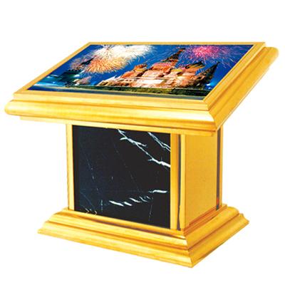 钛金蓝宝石灯箱