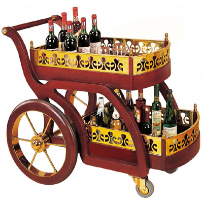 古典式酒水车