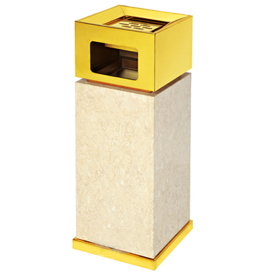 金盖座地烟灰桶