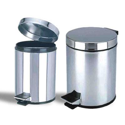 批发采购垃圾桶-厂家供应不锈钢脚踏式垃圾桶/钛金桶
