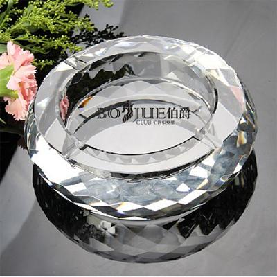 多面型水晶烟灰缸