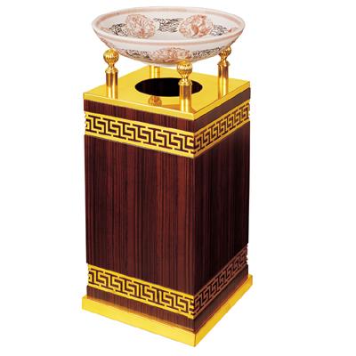 环卫垃圾桶-明达宝柱烟灰桶